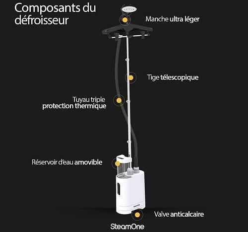 centro de planchado vertical SteamOne HU190GW